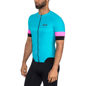 Etxeondo Mendi Maillot manches courtes Homme, blue-pink
